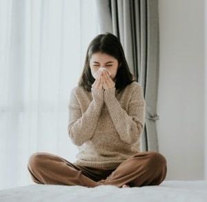 oreiller pour dormir sur le coté anti-allergique